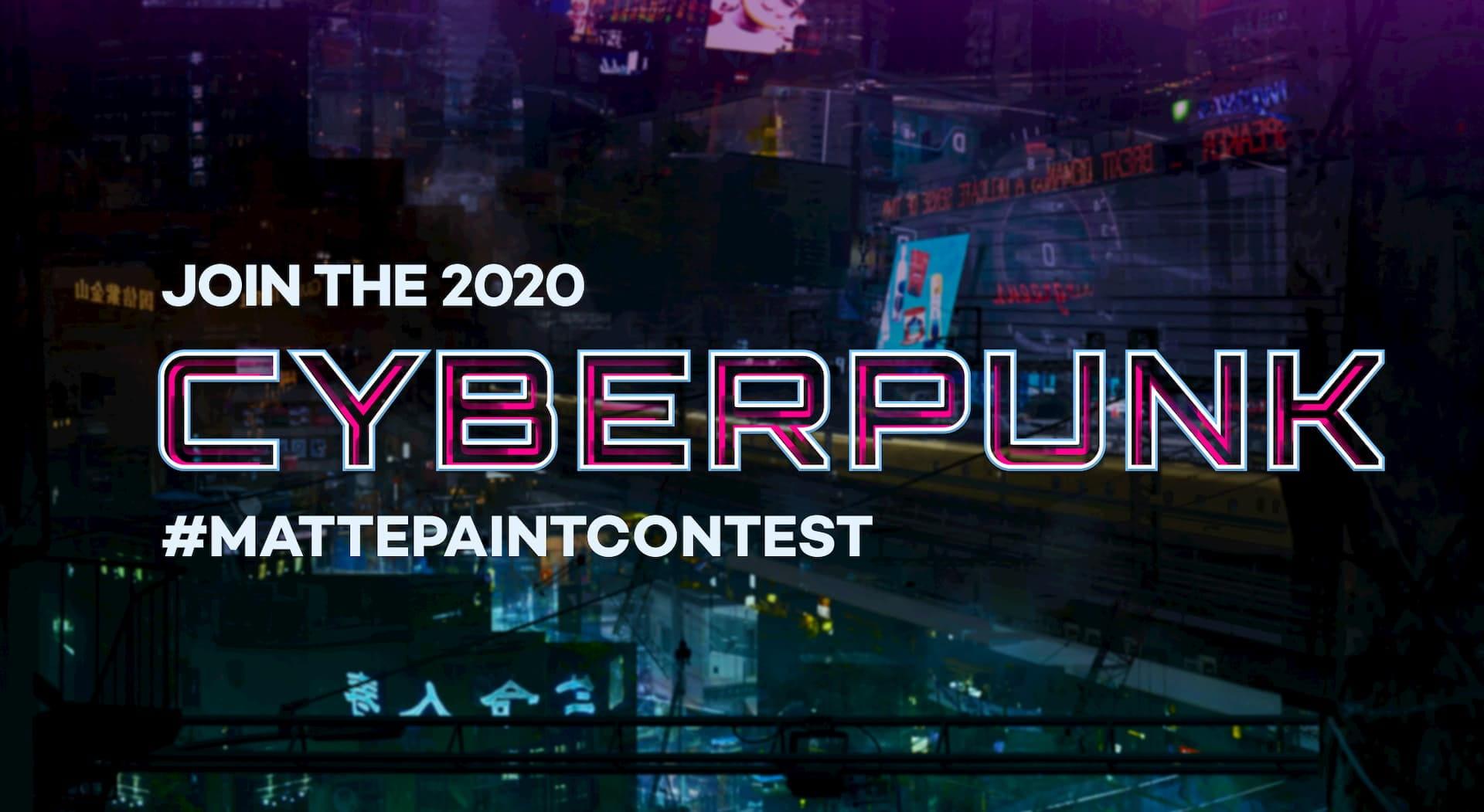 MattePaint Cyberpunk Contest