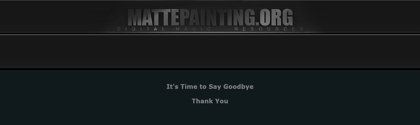 MattePainting.org becomes part of the MattePaint Family!