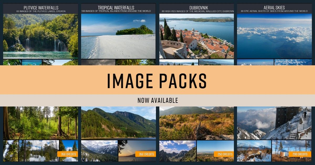 Image Packs Have Arrived