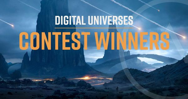 The Digital Universes MattePaint Contest Winners!