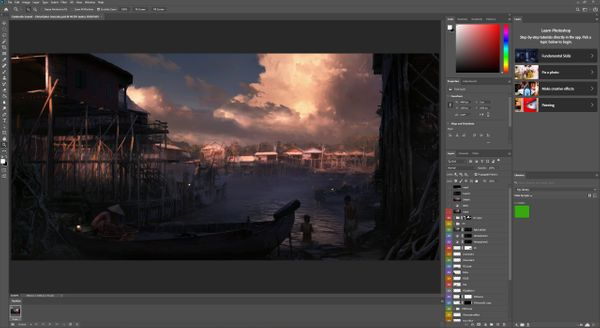 The 3 Essential Programs for Matte Painters